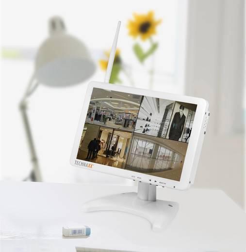 funk berwachungskamera set 4 kanal mit 1 kamera 1280 x 720 pixel 2 4 ghz technaxx tx 29 4641. Black Bedroom Furniture Sets. Home Design Ideas