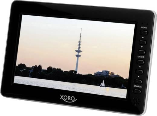 Xoro PTL 700 Tragbarer TV 17.78 cm 7 Zoll Akkubetrieb Schwarz