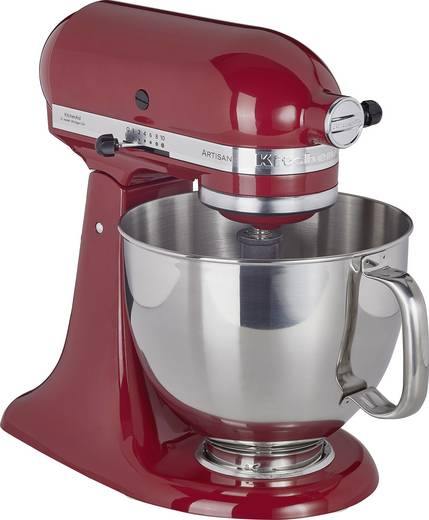 Küchenmaschine KitchenAid Artisan 5KSM125EER Dunkel-Rot