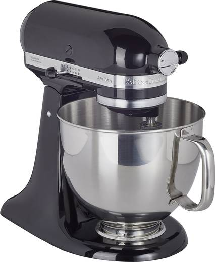 k chenmaschine kitchenaid artisan 5ksm125eob 300 w onyx schwarz kaufen. Black Bedroom Furniture Sets. Home Design Ideas