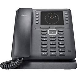 Šnúrový telefón, VoIP Gigaset Maxwell 3 handsfree, konektor na slúchadlá farebný-TFT/LCD čierna