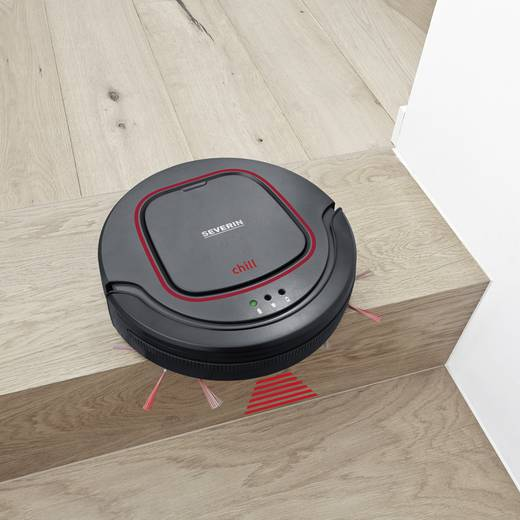 saugroboter severin chill grau rot schwarz kaufen. Black Bedroom Furniture Sets. Home Design Ideas