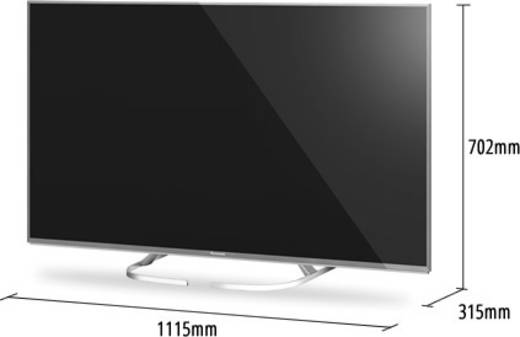 led tv 126 cm 50 zoll panasonic tx 50exw734 eek a twin dvb. Black Bedroom Furniture Sets. Home Design Ideas