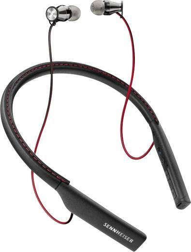 bluetooth hifi kopfh rer sennheiser momentum m2 iebt in ear nfc nackenb gel schwarz rot. Black Bedroom Furniture Sets. Home Design Ideas