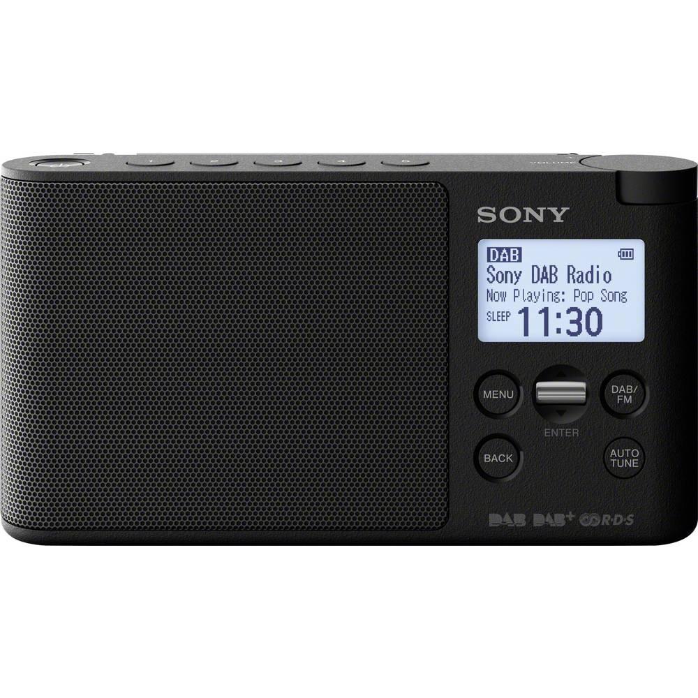 Sony XDR-S41D Tafelradio DAB+, DAB, FM Zwart