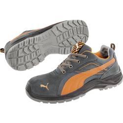 Bezpečnostná obuv S1P PUMA Safety Omni Orange Low SRC 643620-43, veľ.: 43, čierna, oranžová, 1 pár