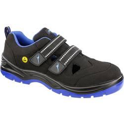 Bezpečnostná obuv ESD (antistatická) S1P Albatros BLUETECH AIR LOW ESD SRC 641110-42, veľ.: 42, čierna, modrá, 1 pár