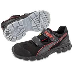 Bezpečnostná obuv ESD (antistatická) S1P PUMA Safety Aviat Low ESD SRC 640891-42, veľ.: 42, čierna, červená, 1 pár