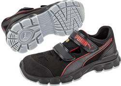 Bezpečnostní obuv ESD (antistatická) PUMA Safety Aviat Low ESD SRC 640891-45 S1P, černá, červená, 1 pár, vel.: 45