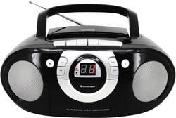 FM CD rádio SoundMaster SCD5100SW, AUX, CD, kazeta, FM, černá