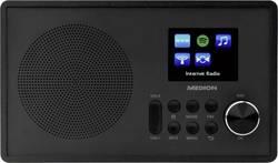 Internetové stolní rádio Medion E85080 (MD87528), AUX, FM, Wi-Fi, USB, černá