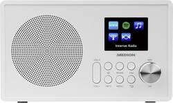 Internetové stolní rádio Medion E85080 (MD87528), AUX, FM, Wi-Fi, USB, bílá