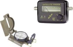 Satelitní vyhledávač Renkforce RL-TC-0101 + kompas Wayfinder