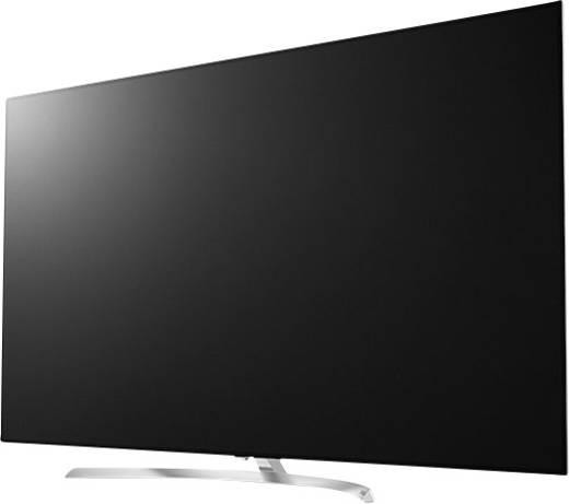 LG Electronics OLED55B7D OLED-TV 139 cm 55 Zoll EEK A DVB-T2, DVB-C, DVB-S, UHD, Smart TV, WLAN, PVR ready, CI+ Silber
