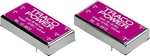 DC/DC-Wandler, Print TracoPower TEL 15-2412 24 V/DC 12 V/DC 1.25 A 15 W Anzahl Ausgänge: 1 x