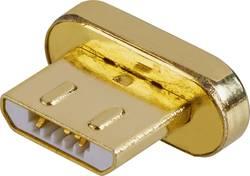 USB 2.0 adaptér Renkforce MagnetSafe RF-4634415, zlatá