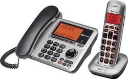 Image of Schnurgebundenes Seniorentelefon Amplicomms BigTel 1480 Anrufbeantworter, Optische Anrufsignalisierung, Freisprechen
