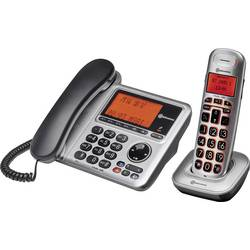 Image of Amplicomms BigTel 1480 Schnurgebundenes Seniorentelefon Anrufbeantworter, Optische Anrufsignalisierung, Freisprechen