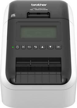 Image of Brother QL-820NWB Etiketten-Drucker Thermodirekt 300 x 300 dpi Etikettenbreite (max.): 62 mm WLAN, LAN, Bluetooth®