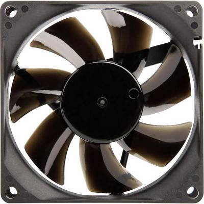 NoiseBlocker BlackSilent Pro P-P PC-Gehäuse-Lüfter Schwarz (B x H x T) 80 x 80 x 25 mm Preisvergleich