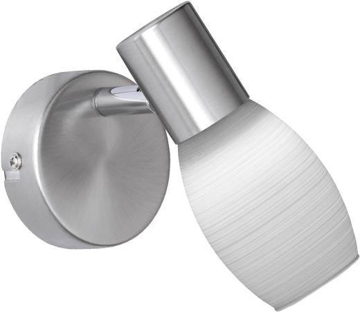 LED-Wandstrahler 5 W Warm-Weiß WOFI Colo 4377.01.64.0000 Nickel (matt)