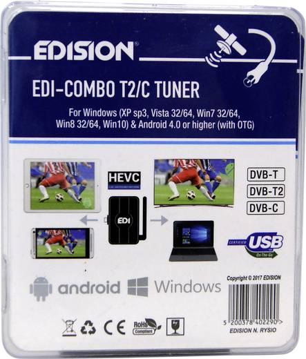 EDISION EDI-COMBO DVB-T/T2/C Kombo-Receiver Android
