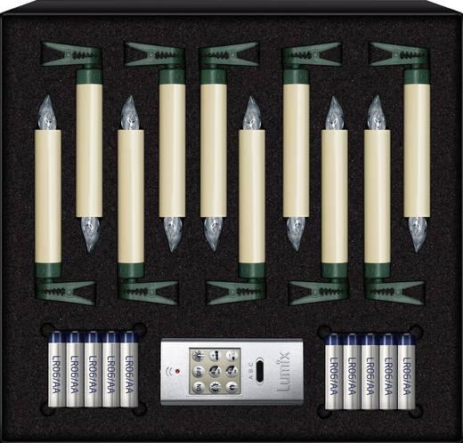 weihnachtsbaum beleuchtung innen batteriebetrieben 10 led warm wei krinner 74422. Black Bedroom Furniture Sets. Home Design Ideas