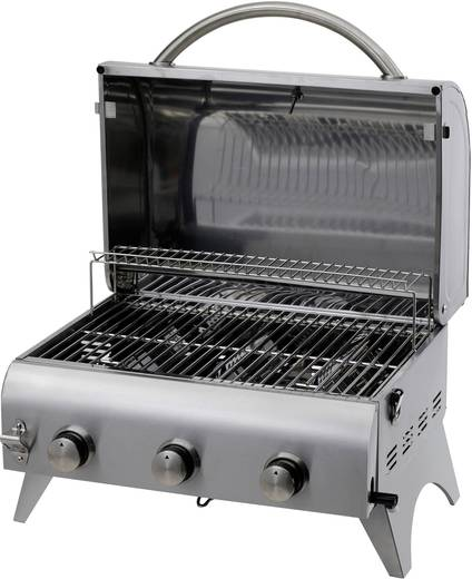 tisch gas grill tepro garten millington 3 brenner silber matt kaufen. Black Bedroom Furniture Sets. Home Design Ideas