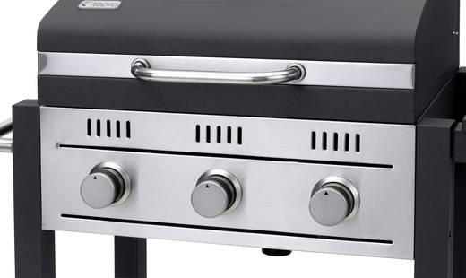 Tepro Toronto Holzkohlegrill Mit Grillrosteinsatz : Tepro garten toronto gas grillwagen gas grill 3 brenner schwarz