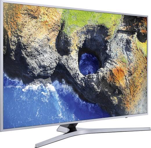 LED-TV 100 cm 40 Zoll Samsung UE40MU6409 EEK A DVB-T2, DVB-C, DVB-S, UHD, Smart TV, WLAN, CI+ Silber