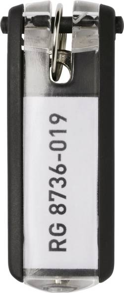 Porte-clef Durable 195701 noir 6 pc(s)