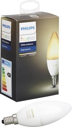 philips hue led leuchtmittel e14 6 w warm wei neutral wei kalt wei. Black Bedroom Furniture Sets. Home Design Ideas