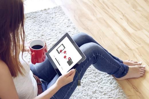 Apple Lightning-Kartenleser Smartphone/Tablet ednet Smart Memory Schwarz USB 3.1, Apple Lightning, microSD