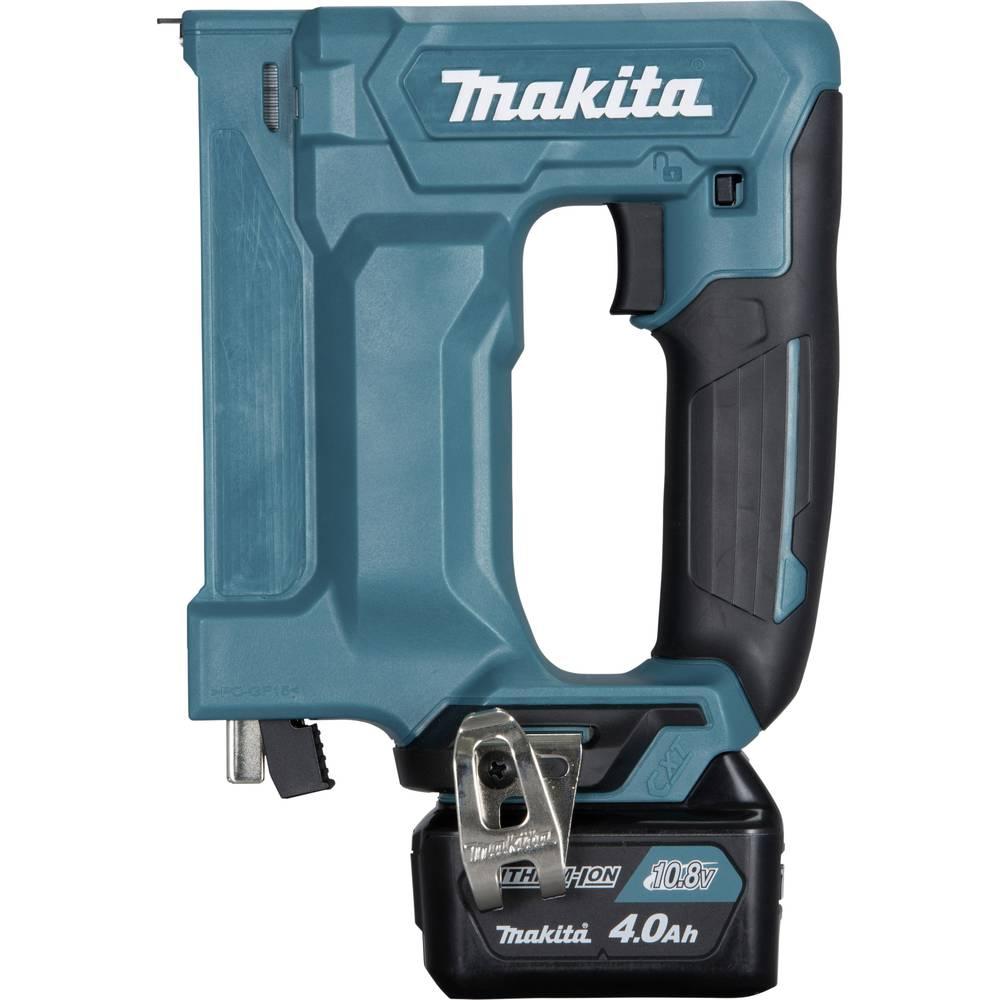 Agrafeuse sans fil avec 2 batteries avec mallette makita for Valise makita avec tous ses accessoires