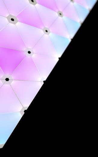Nanoleaf Aurora LED-Lichtpanels Starter-Kit Aurora LED fest eingebaut 18 W RGBW