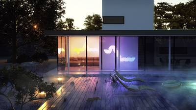Nanoleaf Aurora LED lighting panels starter kit Aurora Built-in LED 18 W RGBW