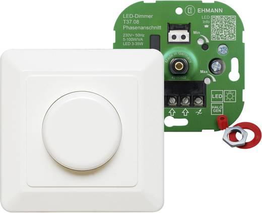Ehmann 3760c0800 unterputz dimmer geeignet für leuchtmittel: led