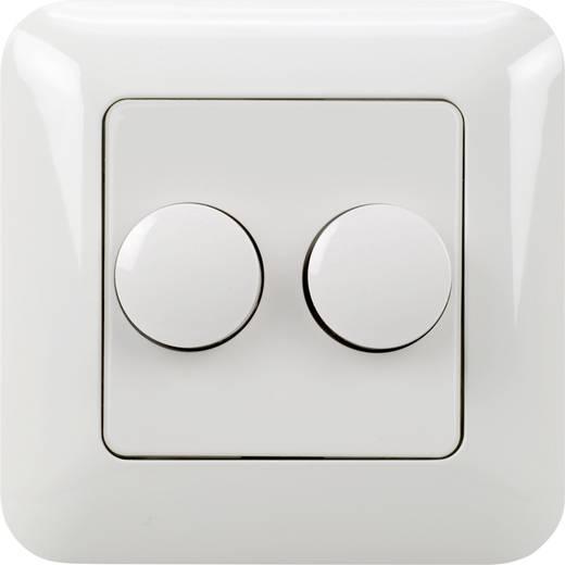 unterputz dimmer geeignet f r leuchtmittel led lampe gl hlampe halogenlampe wei ehmann 4260c0701. Black Bedroom Furniture Sets. Home Design Ideas