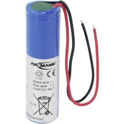 Speciální akumulátor Ansmann 1S1P, 18650, s kabelem, Li-Ion akumulátor, 3.7 V, 2600 mAh