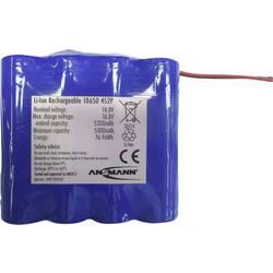 Akupack Li-Ion akumulátor 8 18650 s kabelem Ansmann 2447-3035-01, 5200 mAh, 14.8 V