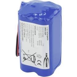 Akupack Li-Ion akumulátor 4 18650 s kabelem Ansmann 2447-3049-01, 5200 mAh, 7.4 V