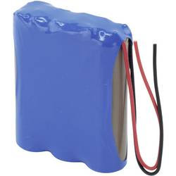 Akupack Li-Ion akumulátor 3 18650 s kabelem Ansmann 2447-3031-01, 2600 mAh, 11.1 V