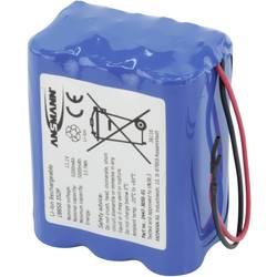 Akupack Li-Ion akumulátor 6 18650 s kabelem Ansmann 2447-3050-01, 5200 mAh, 11.1 V
