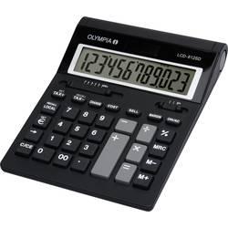 Olympia LCD 612 SD stolní počítač černá Displej (počet míst): 12 na baterii (š x v x h) 212 x 42 x 162 mm