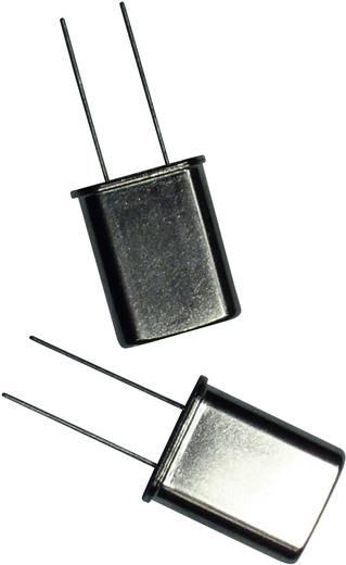 Quarzkristall EuroQuartz QUARZ HC49 HC49 27.000 MHz 18 pF (L x B x H) 4.9 x 10.3 x 13.6 mm