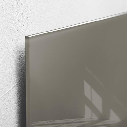 sigel glas magnetboard artverum b x h 48 cm x 48 cm taupe gl118 kaufen. Black Bedroom Furniture Sets. Home Design Ideas