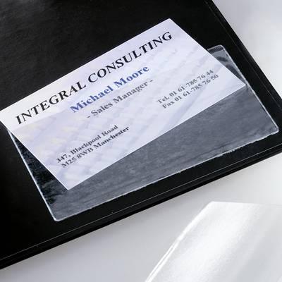 Sigel Visitenkarten Tasche Selbstklebend Vz115 Max Anzahl Der Karten 100 Karten 100 St