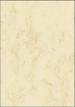 Image of Motivpapier Sigel DP397 Marmor DIN A4 200 g/m² Beige 50 Blatt