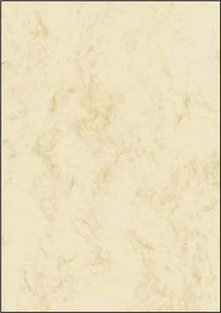Image of Motivpapier Sigel DP372 Marmor DIN A4 90 g/m² Beige 100 Blatt