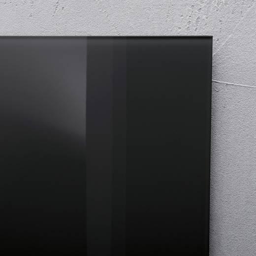 sigel glas magnetboard artverum b x h 78 cm x 48 cm schwarz gl130 kaufen. Black Bedroom Furniture Sets. Home Design Ideas